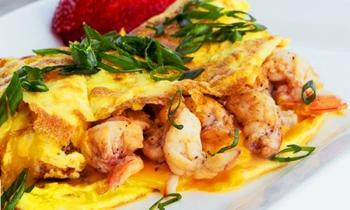 Omelette alla pescatora