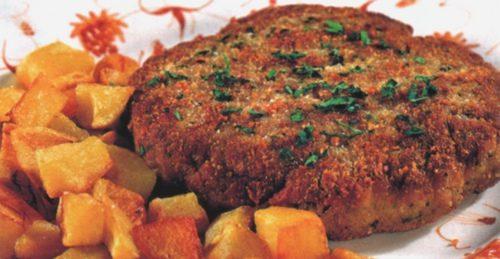Polpette fritte di carne e mortadella