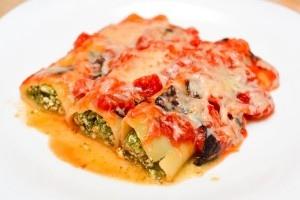 Cannelloni con ricotta e spinaci 0