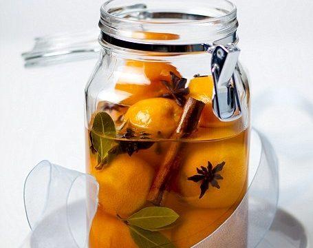 Conserva di clementine alla grappa