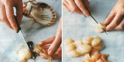 Come aprire e cucinare le capesante