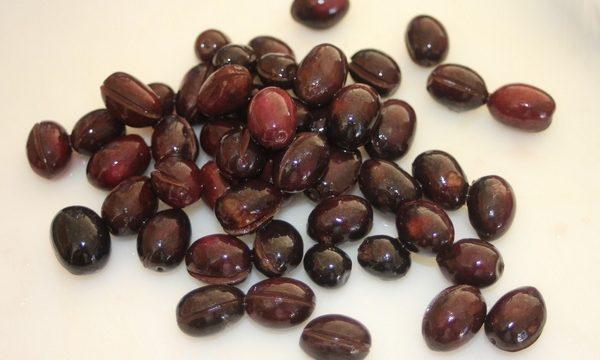 Conserva di olive nere infornate video