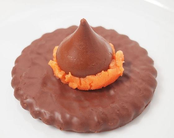 Cappello della befana al cioccolato