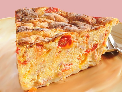 Torta salata alla pizzaiola al lievito istantaneo