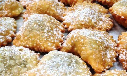 Tortelli fritti di carnevale alla nutella