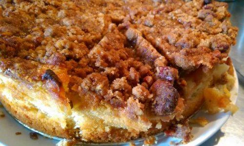 Crostata di mele granulosa