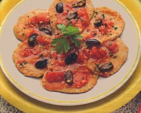 Scaloppine alla pizzaiola