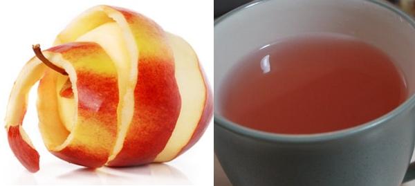 L'infusione di buccia di mela