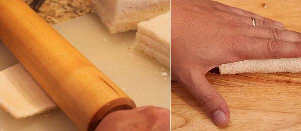 Rotolo di pancarrè al formaggio e noci