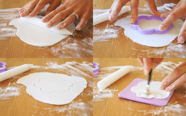 Come realizzare con il marshmallow fondant le decorazioni floreali10