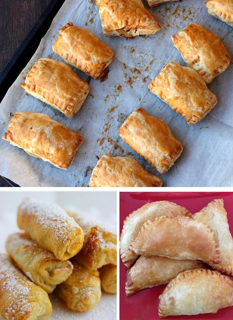 3 ricette antipasto con pasta sfoglia le ricette di for Ricette di pasta