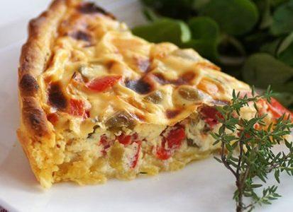 Torta salata con zucca pancetta e patate