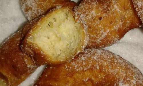 Ciambelline di patate aromatizzate al limone