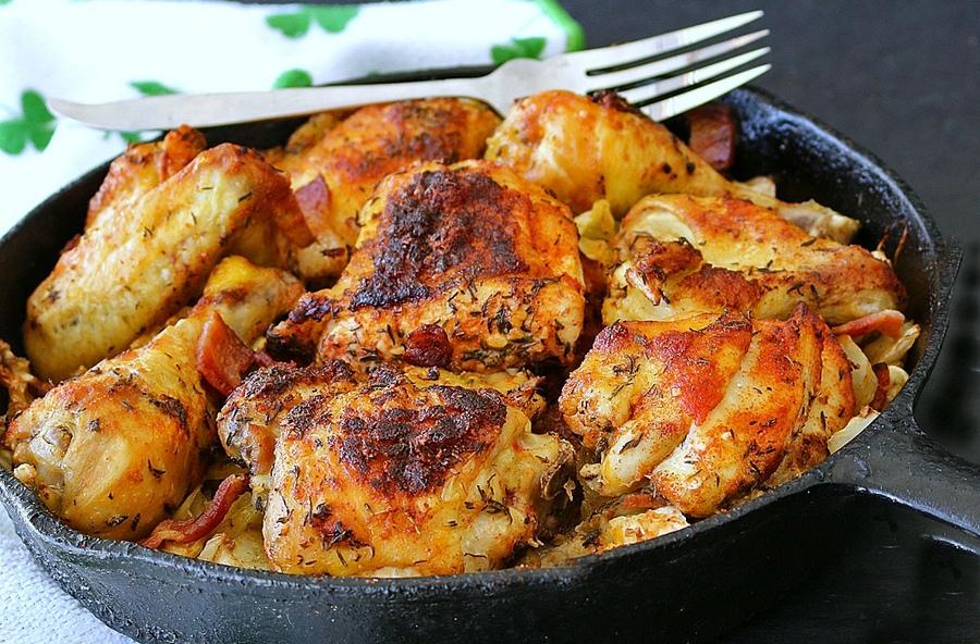 pollo-alla-pancetta-e-verza