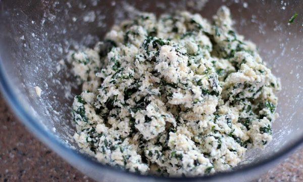 Rotolo di patate spinaci e ricotta