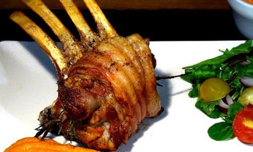 Arrosto carrè di maiale alla grappa
