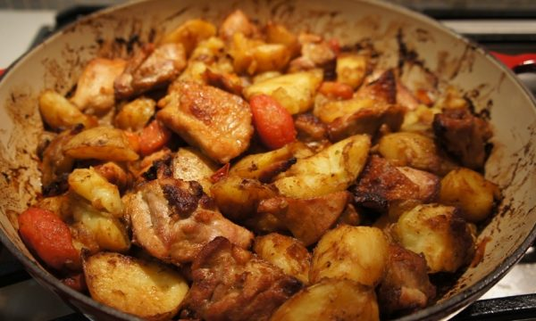 Spezzatino di pollo con patate
