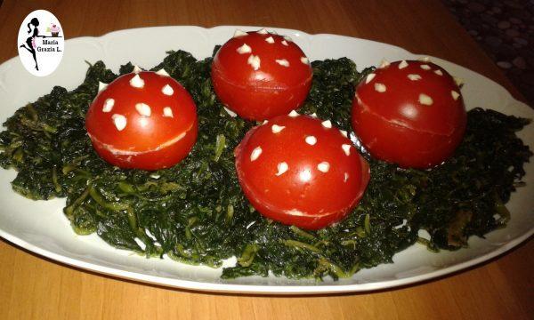 Video: Antipasto freddo pomodori a funghetto