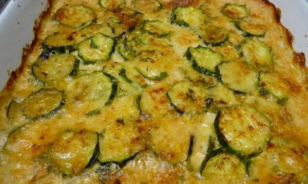 Tortino di zucchine al formaggio