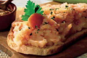 Crostoni di pane alla campagnola