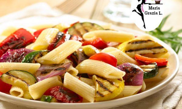 Insalata di pasta alle verdure grigliate