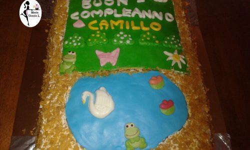 Torta compleanno prato Video ricetta