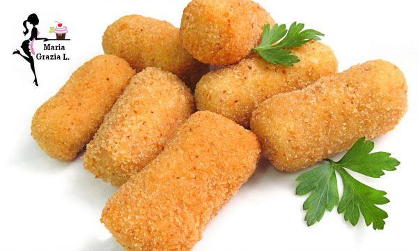 Crocchette di patate e acciughe