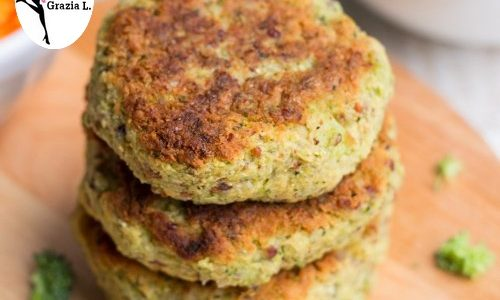 Crocchette leggere con patate e broccoli al forno