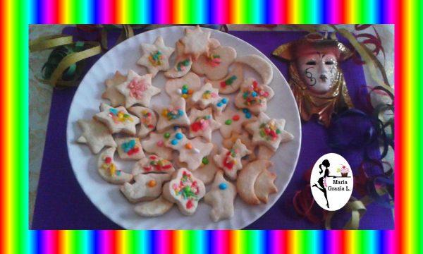 Biscotti di carnevale in pasta frolla Video