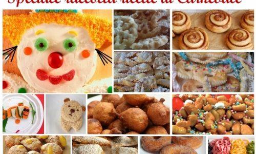 Raccolta ricette di carnevale