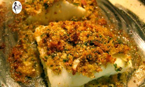 Filetti di merluzzo impanato ai pomodori secchi
