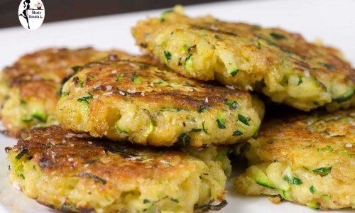 Frittelle di zucchine al forno