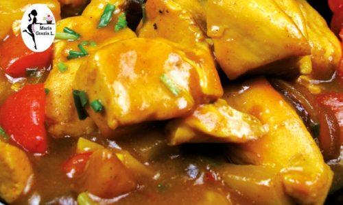 Petto di pollo ai peperoni