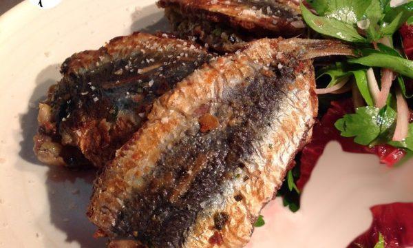 Sandwich di sardine