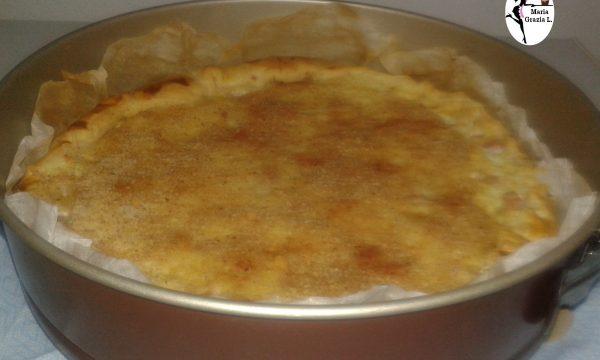 Torta salata di pasta sfoglia al riso e ricotta Video