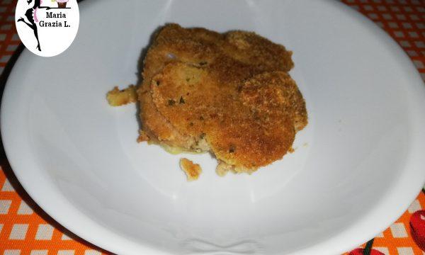 Pesce spada alle patate gratinato in forno
