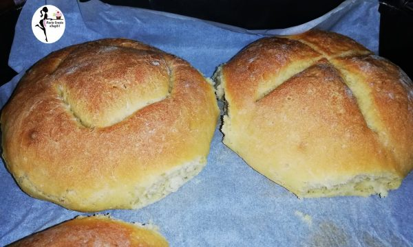 Pane fatto in casa al lievito madre video