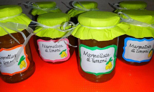 Marmellata di limoni Amalfitana velocissima