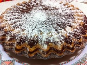 torta zebrata