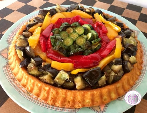 CROSTATA MORBIDA SALATA ALL'ORTOLANA