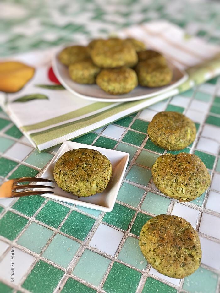 Polpette di broccoli al forno