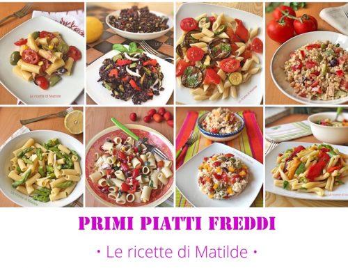 PRIMI PIATTI FREDDI – Raccolta di ricette