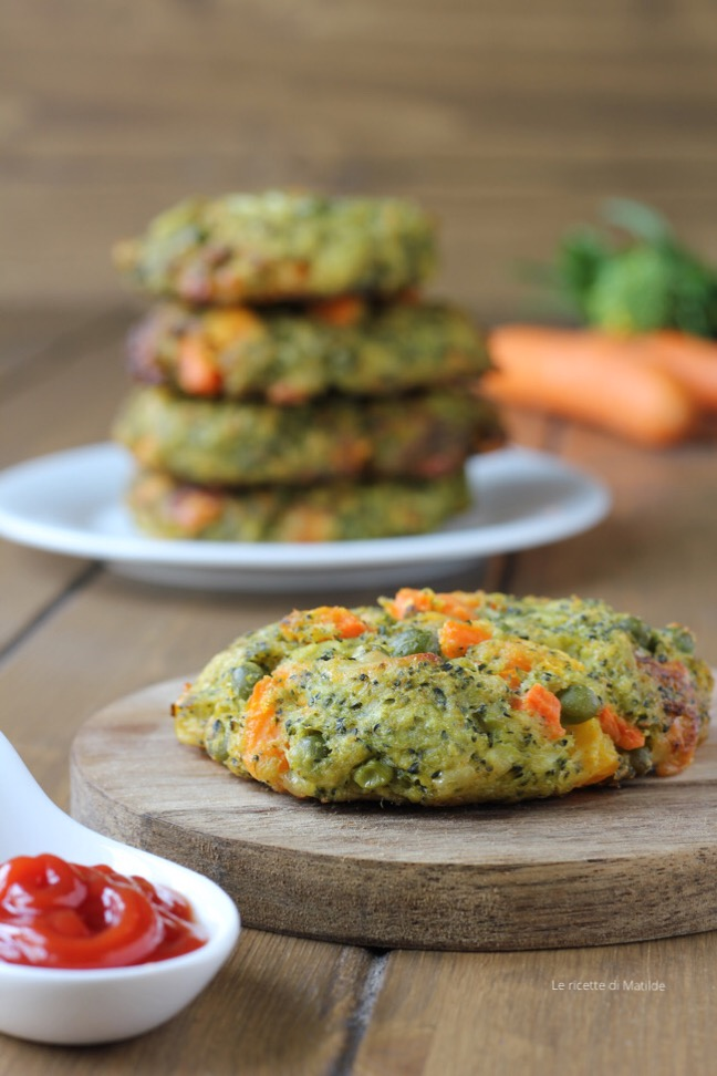 burger di verdure al forno