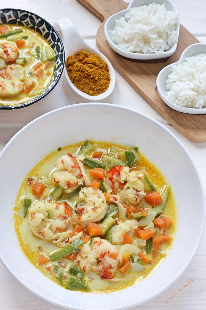 Ricetta Zuppa Thai Con Gamberi.Zuppa Thai Con Gamberi E Latte Di Cocco Le Ricette Di Matilde