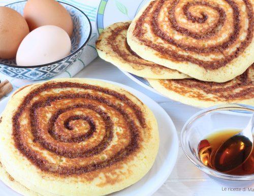 PANCAKE ALLA CANNELLA – Cinnamon rolls pancake