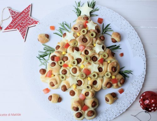 ALBERO DI MINI HOT DOG