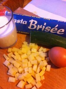 ingredienti ricetta tortina salata