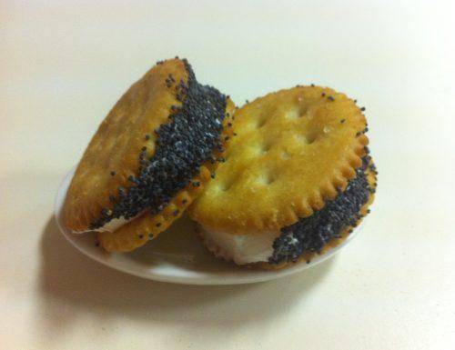 Mini sandwhich al formaggio