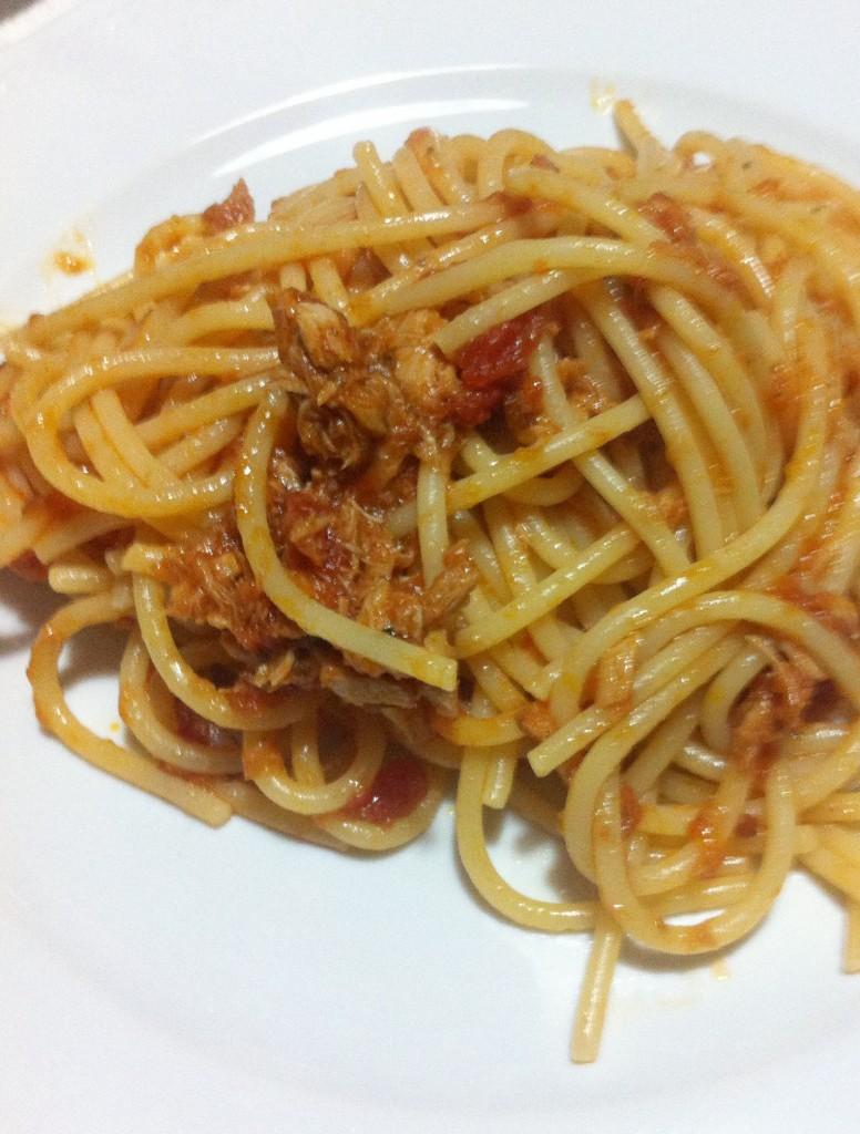 spaghetti al tonno alla modenese