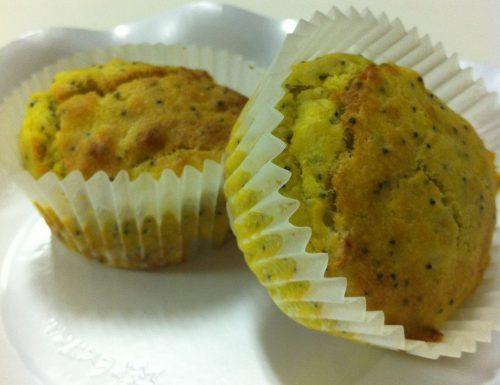 Muffin di zucca ai semi di papavero